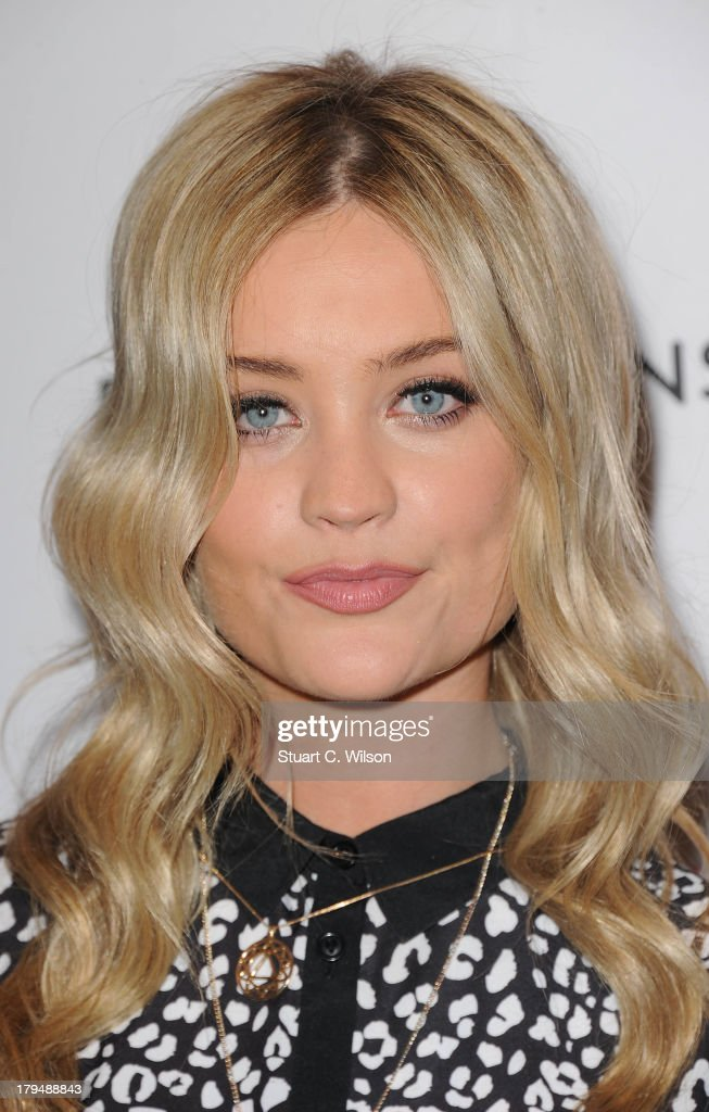 <a gi-track='captionPersonalityLinkClicked' href=/galleries/search?phrase=Laura+Whitmore&family=editorial&specificpeople=5599316 ng-click='$event.stopPropagation()'>Laura Whitmore</a> attends the launch party of very.co.uk's Definiteations range at Somerset House on September 4, 2013 in London, England.