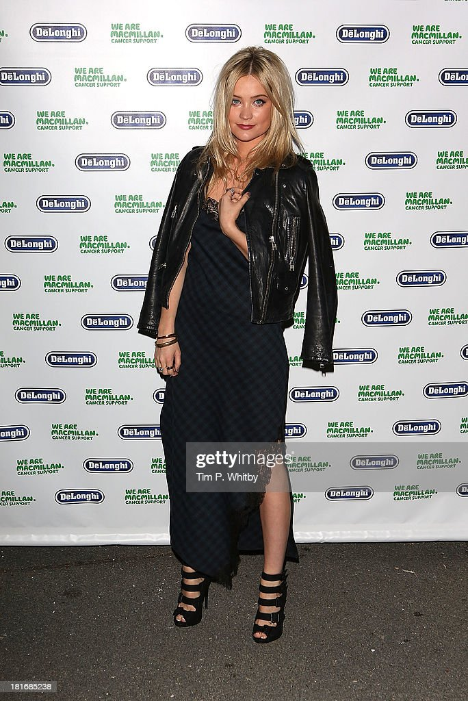 Laura Whitmore attends the Macmillan De'Longhi Art auction 2013 at Royal College of Arts on September 23, 2013 in London, England.
