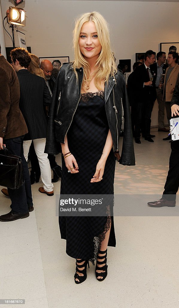 Laura Whitmore attends the Macmillan De'Longhi Art Auction, raising money for Macmillan Cancer Support, at Royal College of Art on September 23, 2013 in London, England
