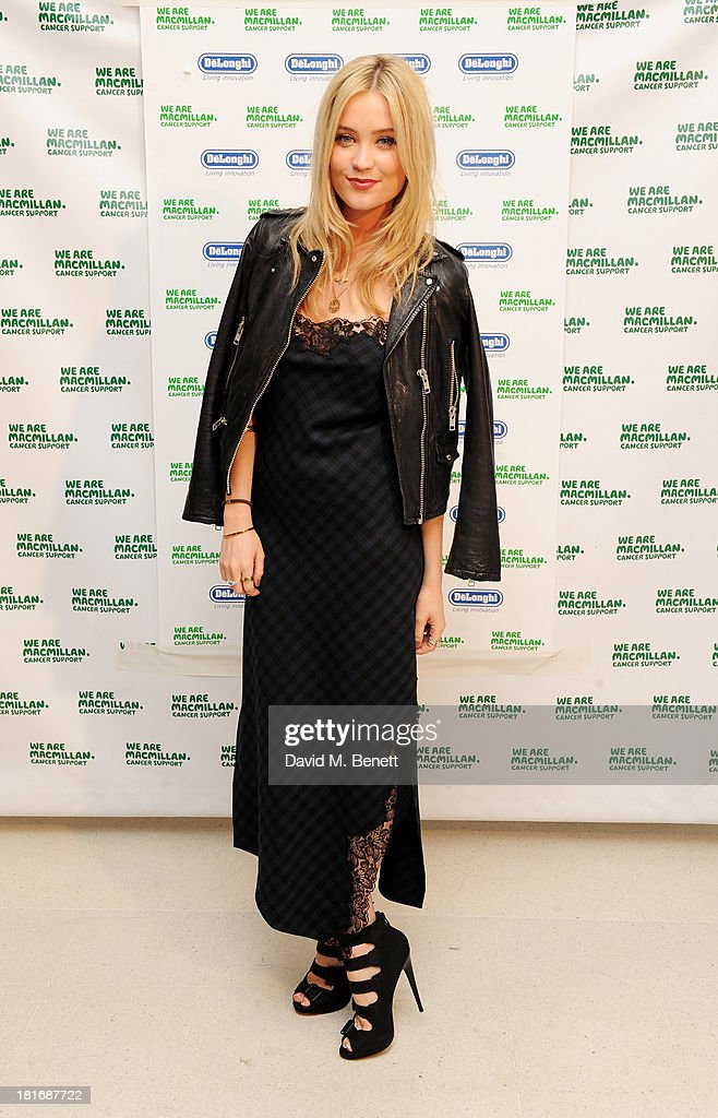 <a gi-track='captionPersonalityLinkClicked' href=/galleries/search?phrase=Laura+Whitmore&family=editorial&specificpeople=5599316 ng-click='$event.stopPropagation()'>Laura Whitmore</a> attends the Macmillan De'Longhi Art Auction, raising money for Macmillan Cancer Support, at Royal College of Art on September 23, 2013 in London, England