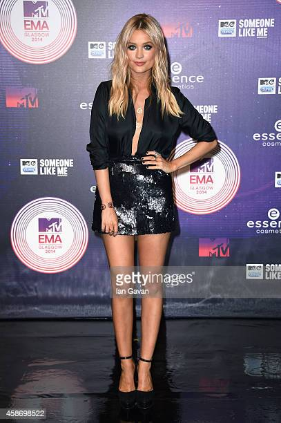Laura Whitmore attends the MTV EMA's 2014 at The Hydro on November 9 2014 in Glasgow Scotland