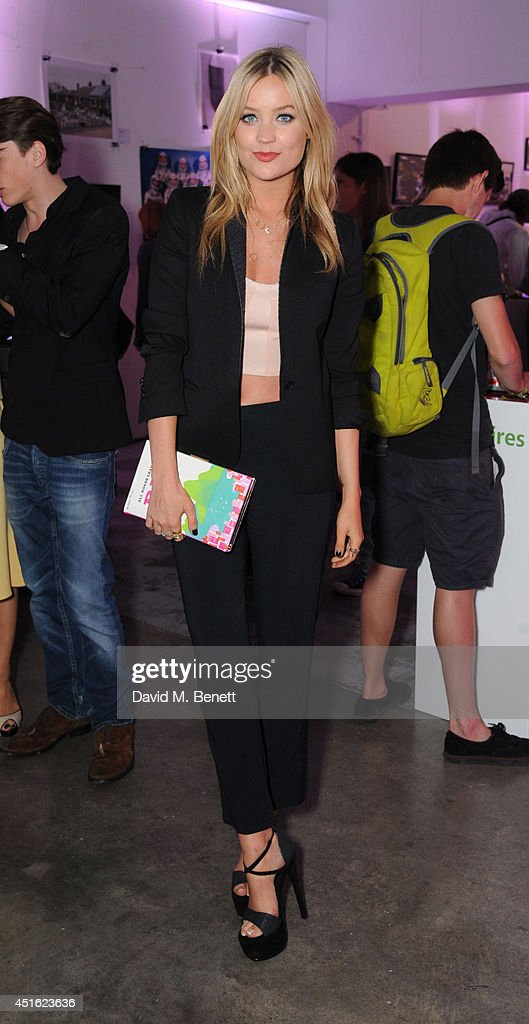 <a gi-track='captionPersonalityLinkClicked' href=/galleries/search?phrase=Laura+Whitmore&family=editorial&specificpeople=5599316 ng-click='$event.stopPropagation()'>Laura Whitmore</a> attends the Nokia Lumia 630 #100aires Pop-up store, at The Old Truman Brewery on July 2, 2014 in London, England.