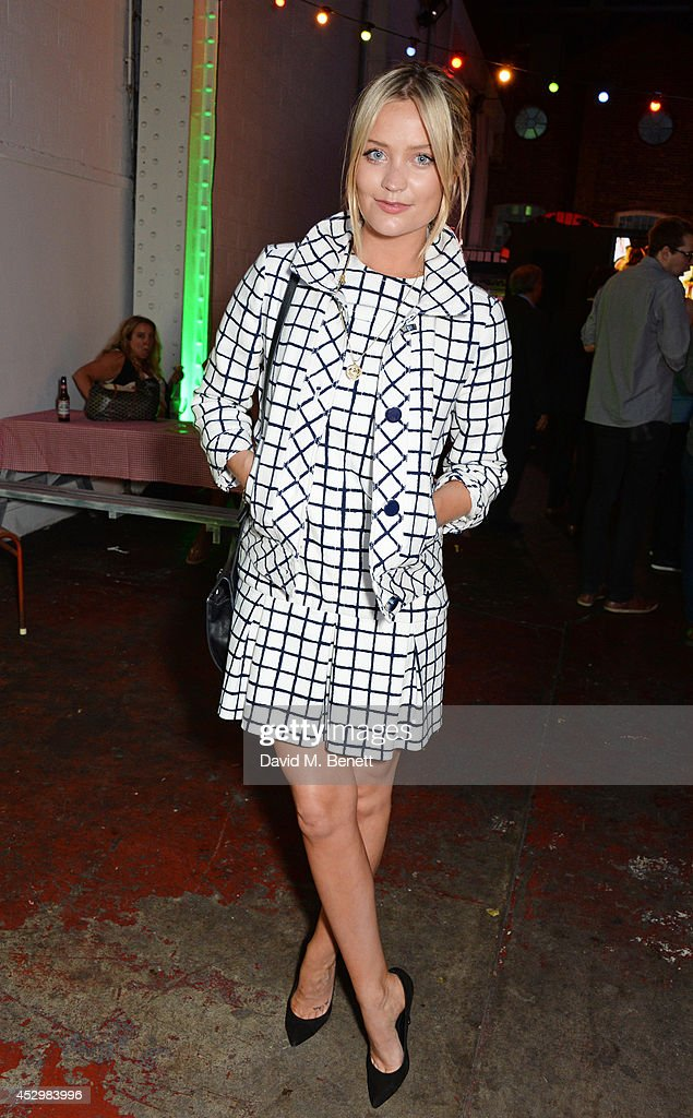 <a gi-track='captionPersonalityLinkClicked' href=/galleries/search?phrase=Laura+Whitmore&family=editorial&specificpeople=5599316 ng-click='$event.stopPropagation()'>Laura Whitmore</a> attends the star studded VIP launch party for truTV, a brand new larger than life TV channel launching on 4th August, at the tru-Man Brewery, on July 31, 2014 in London, England.