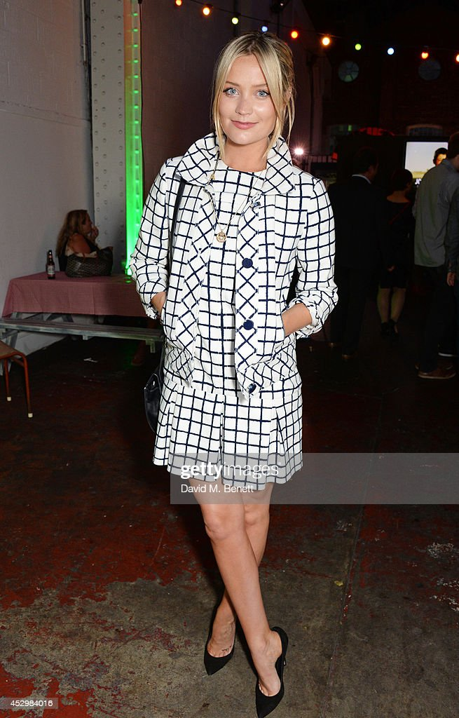 Laura Whitmore attends the star studded VIP launch party for truTV, a brand new larger than life TV channel launching on 4th August, at the tru-Man Brewery, on July 31, 2014 in London, England.