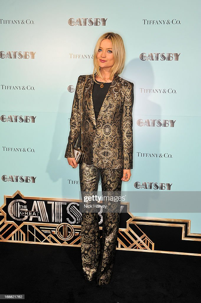 Laura Whitmore attends the Tiffany & Co. and Warner Brothers special screening of The Great Gatsby on May 15, 2013 in London, England.