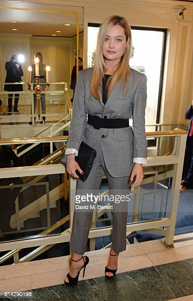 Laura Whitmore attends the TRIC Awards at Grosvenor House Hotel at The Grosvenor House Hotel on March 8 2016 in London England