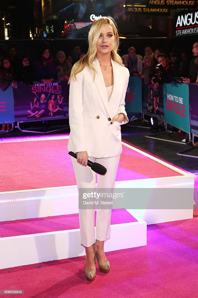 <a gi-track='captionPersonalityLinkClicked' href=/galleries/search?phrase=Laura+Whitmore&family=editorial&specificpeople=5599316 ng-click='$event.stopPropagation()'>Laura Whitmore</a> attends the UK Premiere of 'How To Be Single' at Vue West End on February 9, 2016 in London, England.