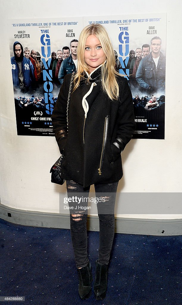 <a gi-track='captionPersonalityLinkClicked' href=/galleries/search?phrase=Laura+Whitmore&family=editorial&specificpeople=5599316 ng-click='$event.stopPropagation()'>Laura Whitmore</a> attends the UK Premiere of 'The Guvnors' at Odeon Covent Garden on August 27, 2014 in London, England.