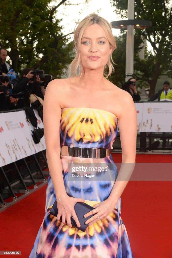 Laura Whitmore attends the Virgin TV BAFTA Television Awards at The Royal Festival Hall on May 14, 2017 in London, England.