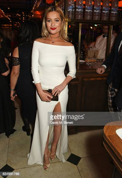 Laura Whitmore attends The Weinstein Company Entertainment Film Distributors Studiocanal 2017 BAFTA After Party in partnership with Ben Sherman Kat...