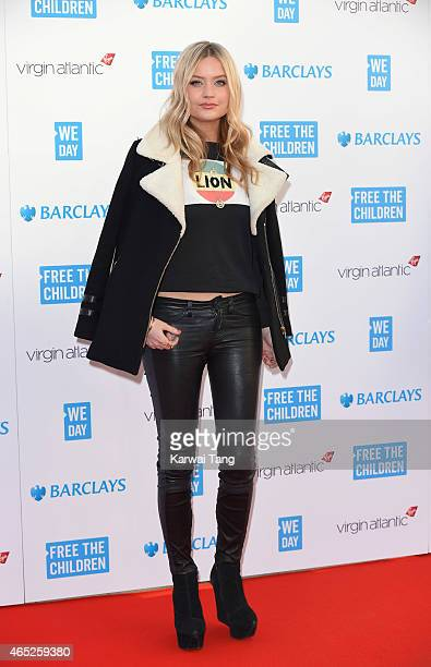 Laura Whitmore attends We Day UK at Wembley Arena on March 5 2015 in London England