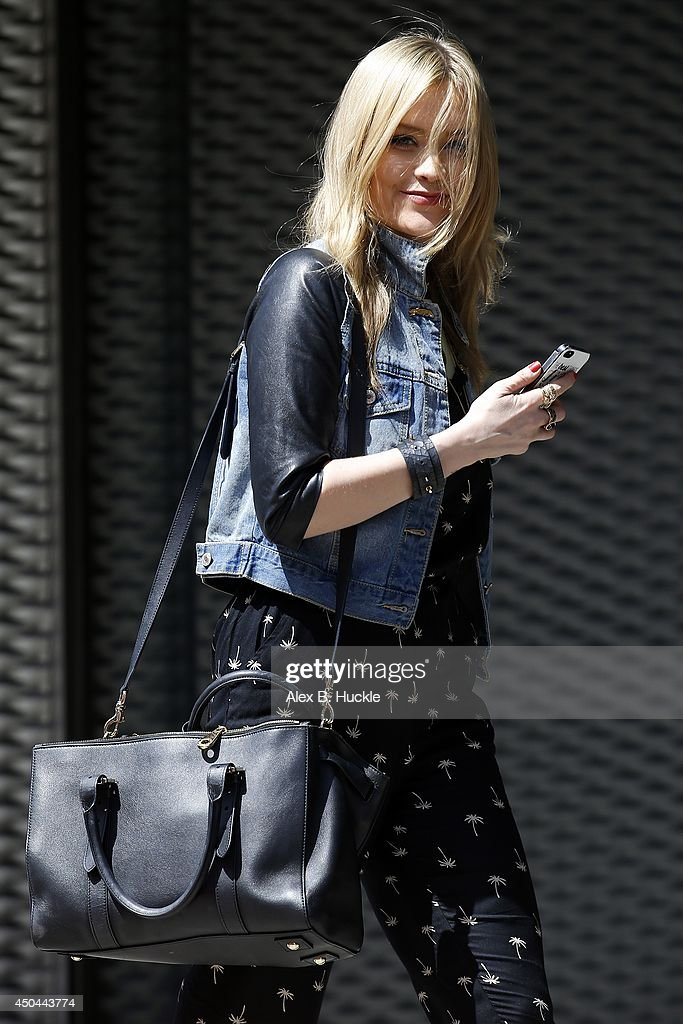 <a gi-track='captionPersonalityLinkClicked' href=/galleries/search?phrase=Laura+Whitmore&family=editorial&specificpeople=5599316 ng-click='$event.stopPropagation()'>Laura Whitmore</a> seen arriving at the MTV Studios in Camden on June 11, 2014 in London, England.