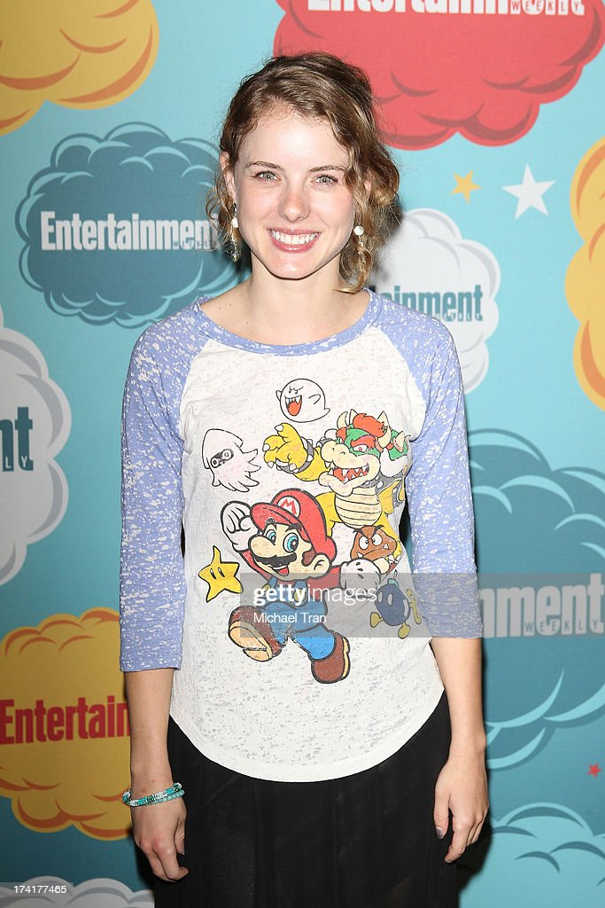 Laura Wiggins arrives at the Entertainment Weekly's Annual Comic-Con celebration held at Float at Hard Rock Hotel San Diego on July 20, 2013 in San Diego, California.