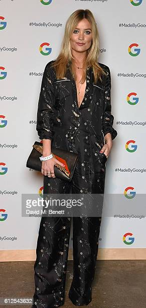 Laura Withmore attends the launch of Google's new phone 'Pixel' with an exclusive live performance from Craig David in front of a starstudded...