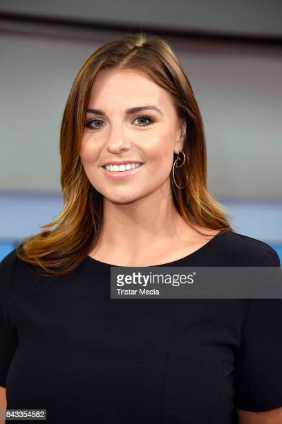 Laura Wontorra attends the 'RTL Commit' Award 2017 at Internationale Funkausstellung on September 6 2017 in Berlin Germany