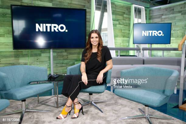 Laura Wontorra during the presentation of the RTL Nitro Season Highlights on July 10 2017 in Cologne Germany