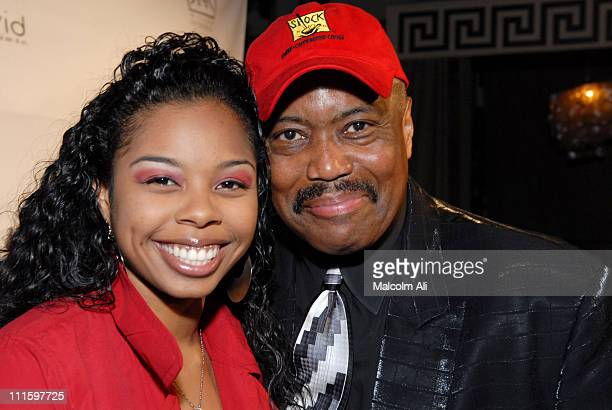 Laura Wright and Cuba Gooding Sr during A Sweet and Chic Fashion Soiree 'Hosted by Erika Martin' at Cabana Club in Hollywood California United States