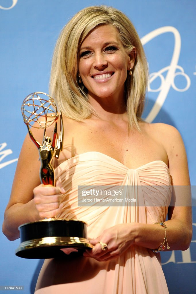Laura Wright at the 38th Annual Daytime Entertainment Emmy Awards for Soap Opera Weekly - Press Room on June 19, 2011 in Las Vegas, Nevada.