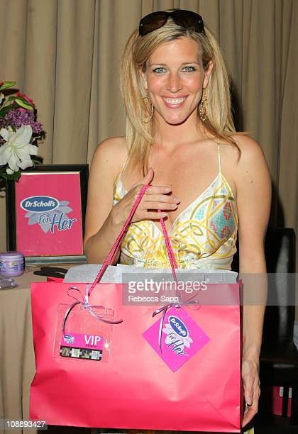 Laura Wright during 33rd Annual Daytime Emmy Awards Gift Suite Day 1 in Los Angeles California United States