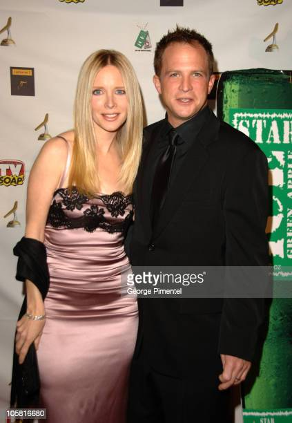 Lauralee Bell and guest during TV Soap's 4th Golden Boomerang Awards at Four Seasons Hotel in Los Angeles California United States