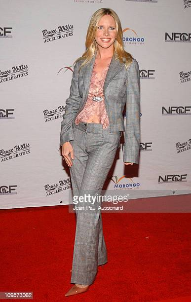 Lauralee Bell during Bruce Willis and The Accelerators in Concert at Avalon Hollywood to Benefit the National Foster Care Fund Arrivals at Avalon...