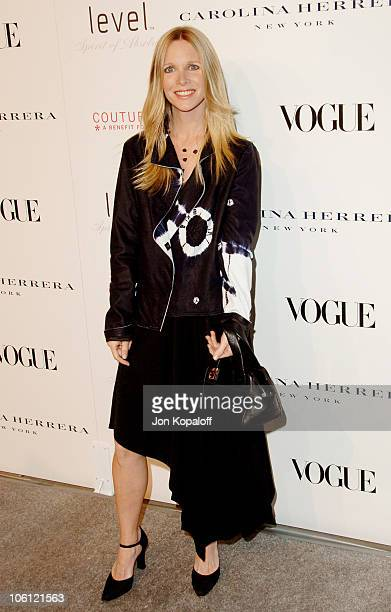 Lauralee Bell during Carolina Herrera Los Angeles Boutique Opening Arrivals at Carolina Herrera in West Hollywood California United States