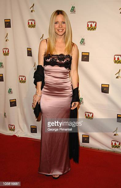 Lauralee Bell during TV Soap's 4th Golden Boomerang Awards at Four Seasons Hotel in Los Angeles California United States