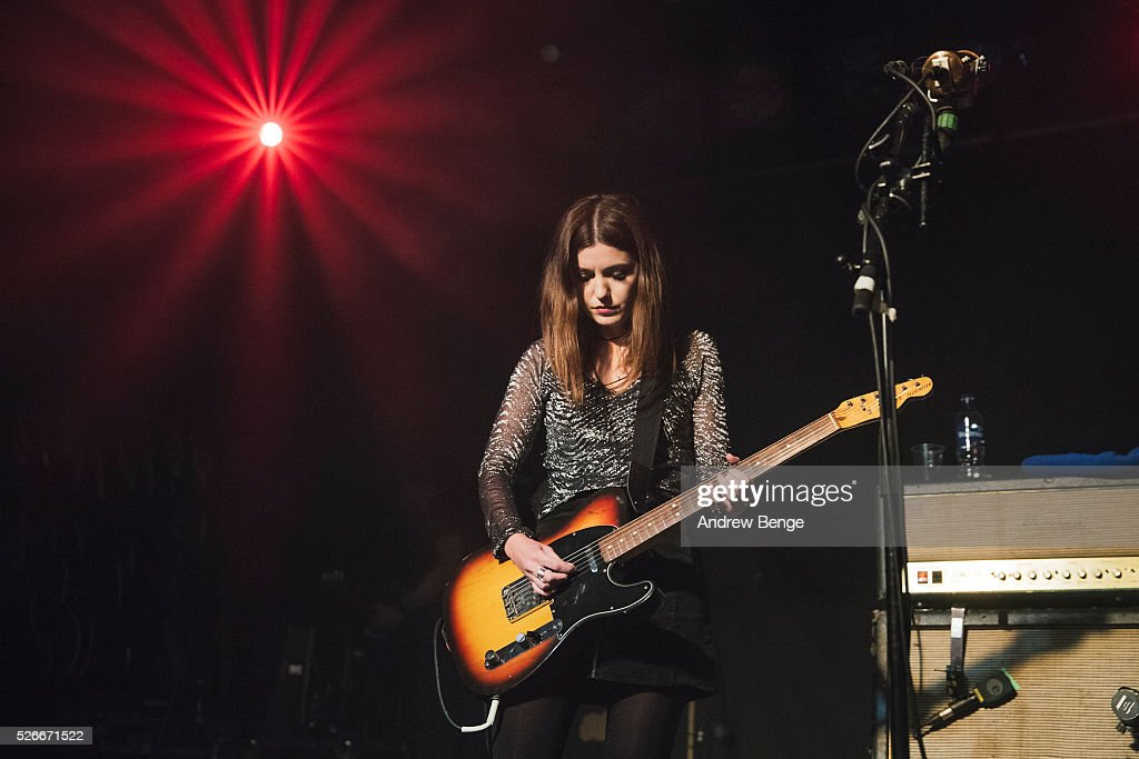 Laura-Mary Carter of Blood Red Shoes performs at Beckett University during Live At Leeds on April 30, 2016 in Leeds, England.