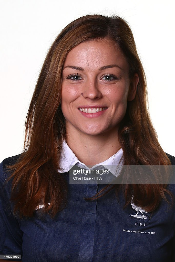 Laure Boulleau of France poses during a FIFA Women's World Cup portrait session on June 6, 2015 in Moncton, Canada.