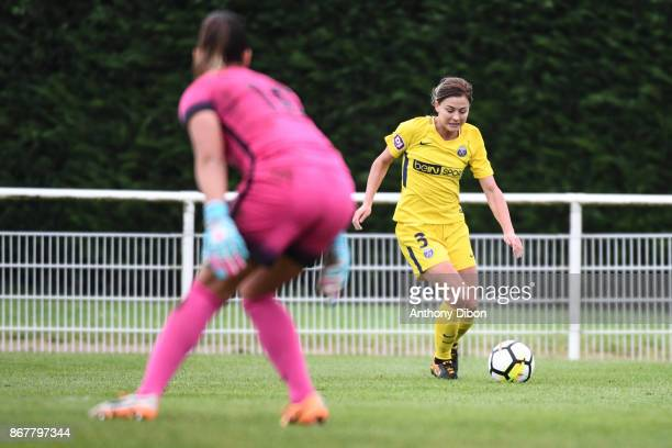 Laure Boulleau of PSG during the women's Division 1 match between Fleury and Paris Saint Germain on October 29 2017 in Fleury France