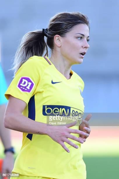 Laure Boulleau of PSG during the women's Division 1 match between Paris FC and Paris Saint Germain on October 15 2017 in Paris France