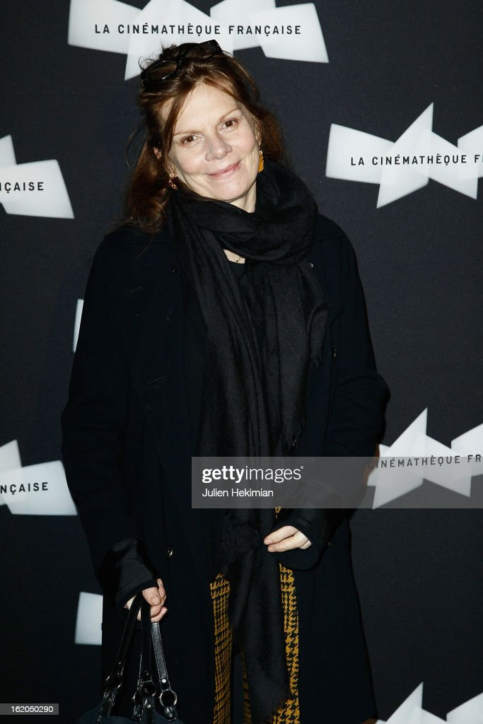 Laure Duthilleul attends the Maurice Pialat Exhibition And Retrospective Opening at Cinematheque Francaise on February 18, 2013 in Paris, France.