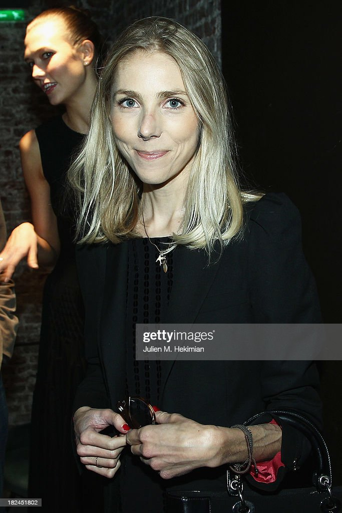 Laure Guilbault attends the Glamour dinner for Patrick Demarchelier as part of the Paris Fashion Week Womenswear Spring/Summer 2014 at Monsieur Bleu restaurant on September 29, 2013 in Paris, France.