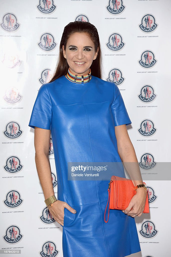 Laure Heriard Dubreuil attends a private dinner celebrating Remo Ruffini and Moncler's 60th Anniversary during Art Basel Miami Beach on December 7, 2012 in Miami Beach, Florida.