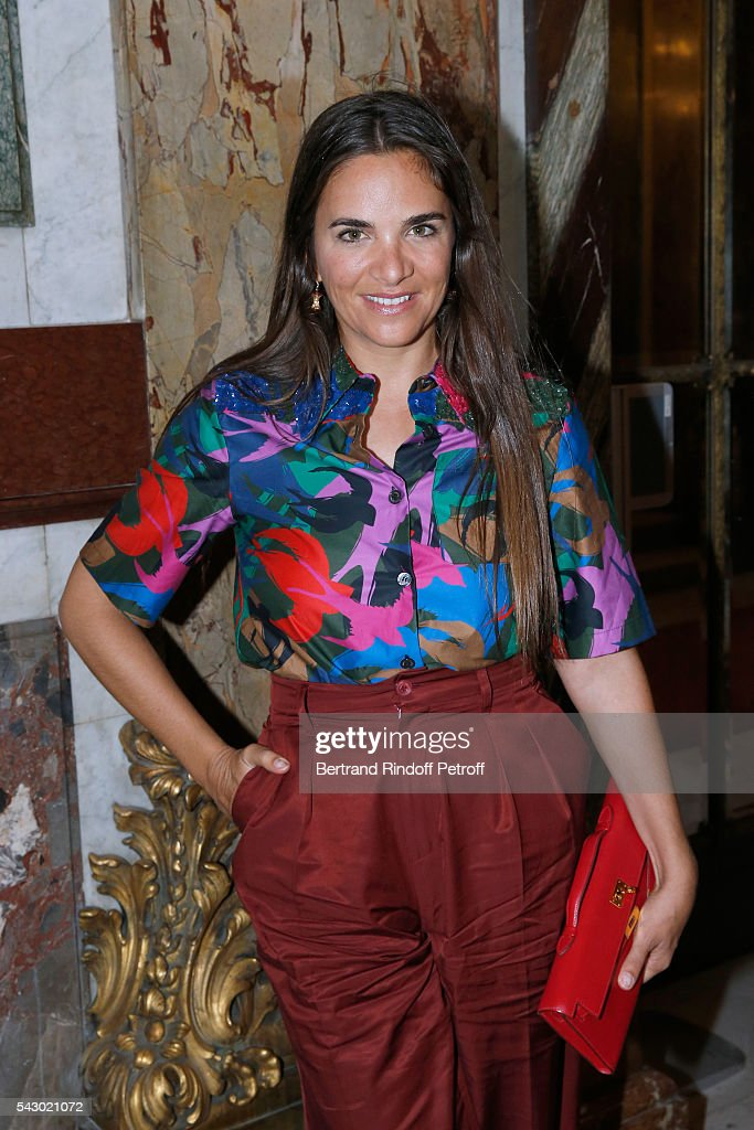 Laure Heriard Dubreuil attends the Balmain Menswear Spring/Summer 2017 show as part of Paris Fashion Week on June 25, 2016 in Paris, France.