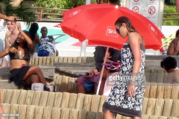 Laure MANAUDOU Plage de Boucan Canot La Reunion