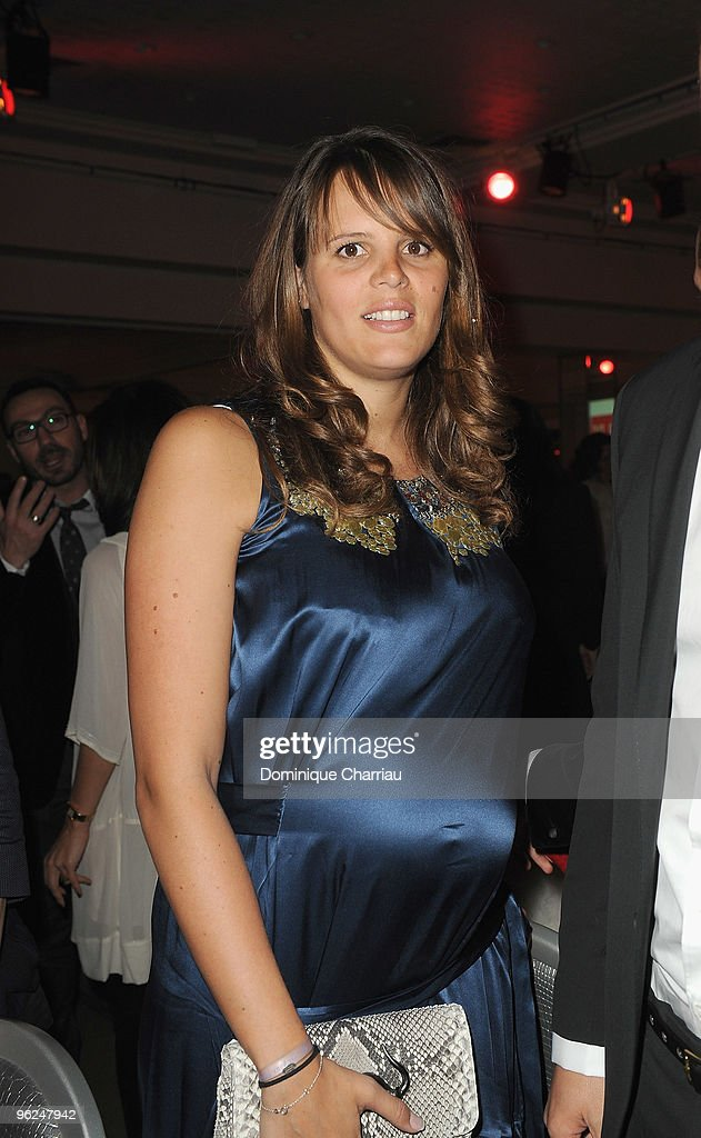 Laure Manaudou attends Fashion Dinner For AIDS at Pavillon d'Armenonville on January 28, 2010 in Paris, France.