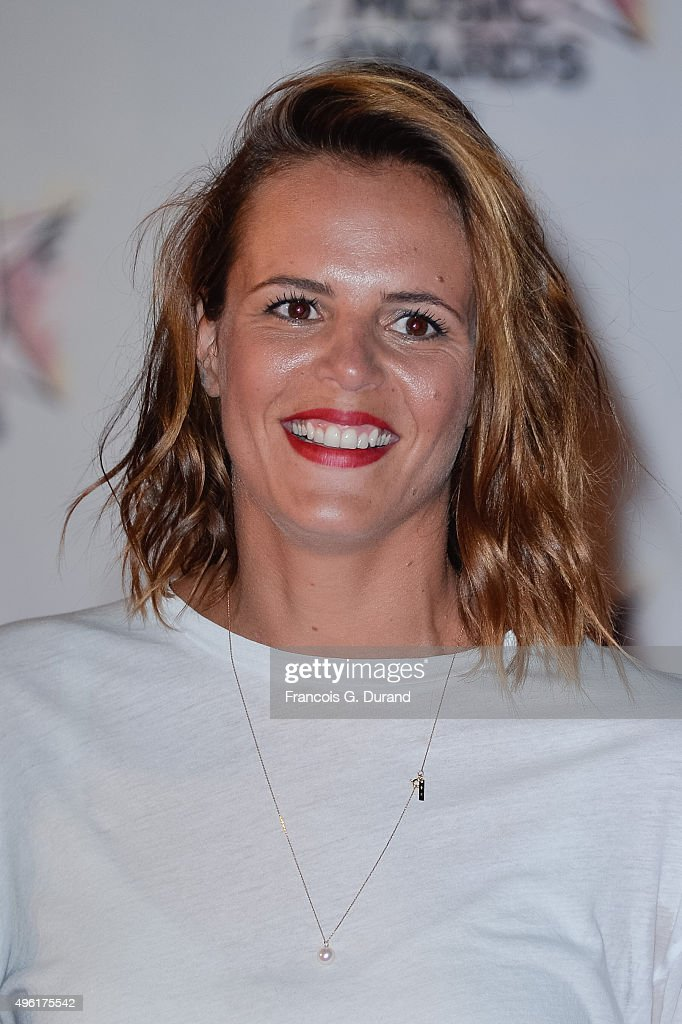 Laure Manaudou attends the 17th NRJ Music Awards at Palais des Festivals on November 7 2015 in Cannes France