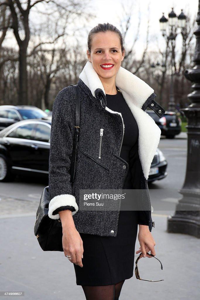Guy Laroche : Outside Arrivals - Paris Fashion Week Womenswear Fall/Winter 2014-2015