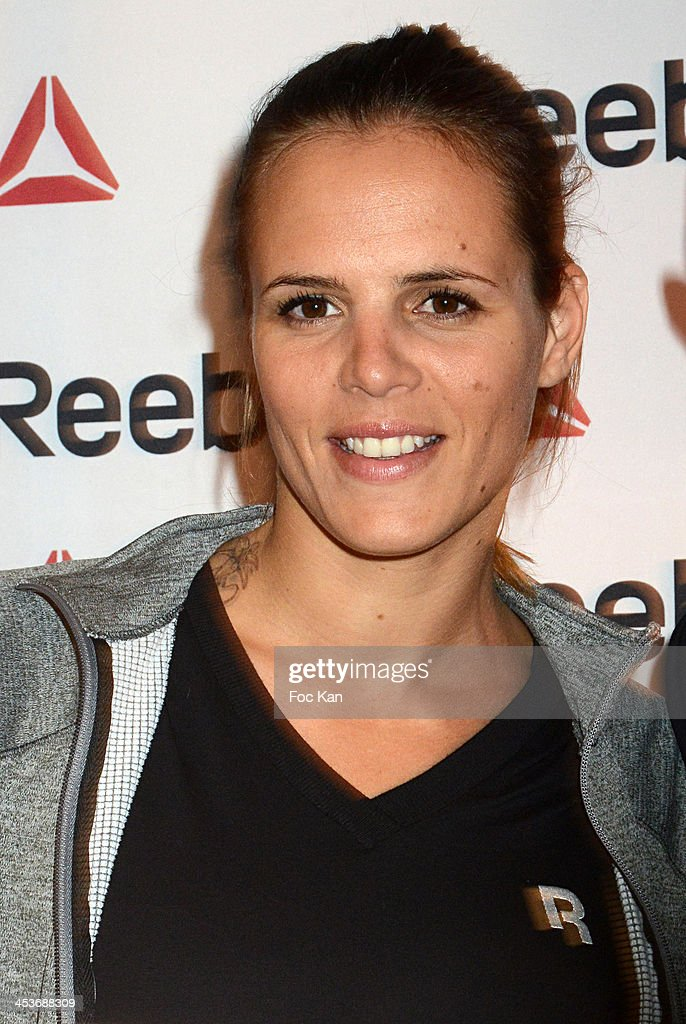 Laure Manaudou attends The 'Reebok Concept Store' Opening Party at Avenue De L'Opera on December 4 2013 in Paris France