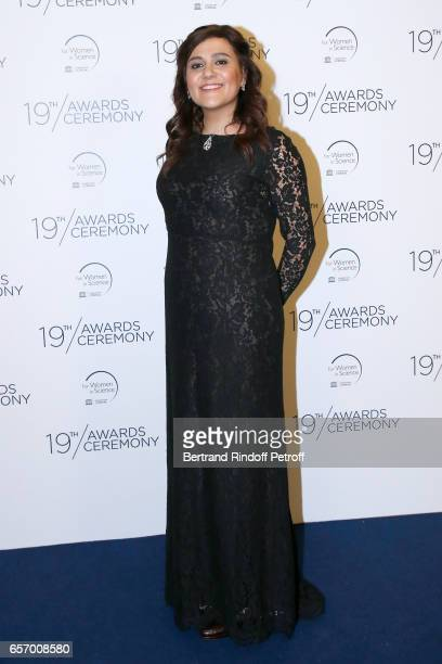 Laureate for Africa and the Arab States Professor Niveen M Khashab attends the '2017 L'Oreal UNESCO for Women in Science' 19th Awards Ceremony at...