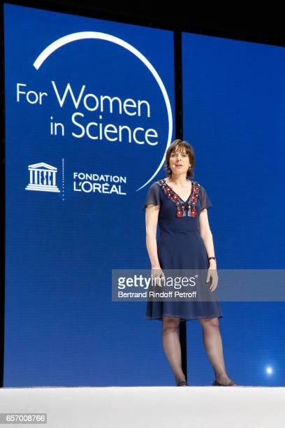 Laureate for Europe Professor Nicola A Spaldin attends the '2017 L'Oreal UNESCO for Women in Science' 19th Awards Ceremony at Maison de la Mutualite...