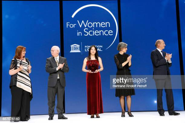 Laureate for Latin America Professor Maria Teresa Ruiz Christian Amatore Laureate for North America Professor Zhenan Bao Assistant DirectorGeneral...
