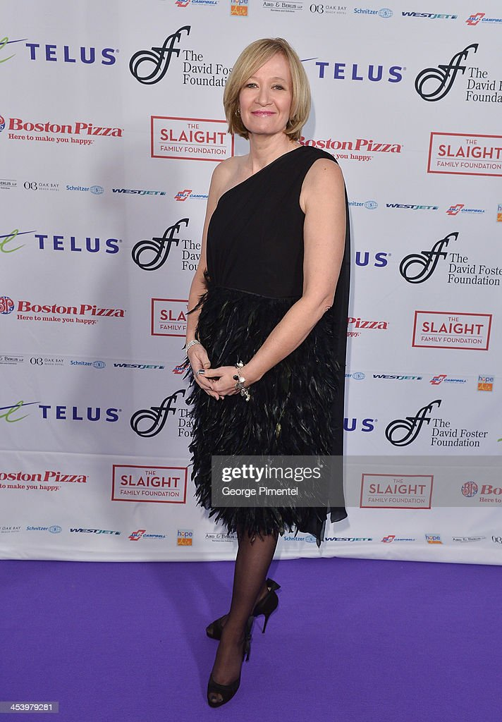 Laureen Harper attends the David Foster Foundation Benefit Concert at Allstream Centre on December 5, 2013 in Toronto, Canada.