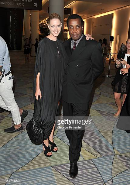 Laureen Lee Smith and Clement Virgo attend the 26th Annual Gemini Awards Industry Gala at the Metro Toronto Convention Centre on August 31 2011 in...