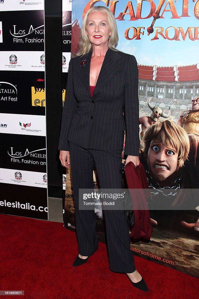 Laurel Barrack attends the 8th annual Los Angeles Italia Film, Fashion and Art Festival opening night ceremony held at Mann Chinese 6 on February 17, 2013 in Los Angeles, California.