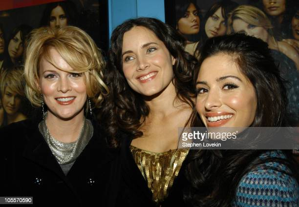 Laurel Holloman Rachel Shelley and Sarah Shahi during Showtime Presents the Second Season Premiere of 'The L Word' at Chelsea Clearview West Cinemas...