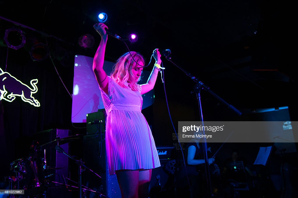 Laurel performs at the 2014 NXNE music festival at Tattoo on June 21, 2014 in Toronto, Canada.
