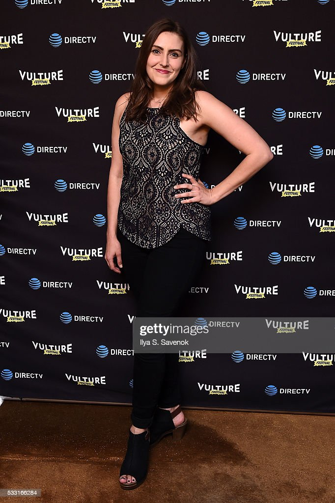 Lauren Adams attends the Vulture Festival Opening Night Party sponsored by DirecTV at The Top of The Standard on May 20 2016 in New York City