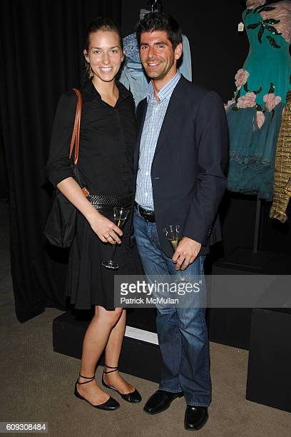Lauren Aichinger and Daniel Cappello attend CHRISTIE'S Celebration of MARIA FELIX La Doña at Christie's on July 16 2007 in New York City